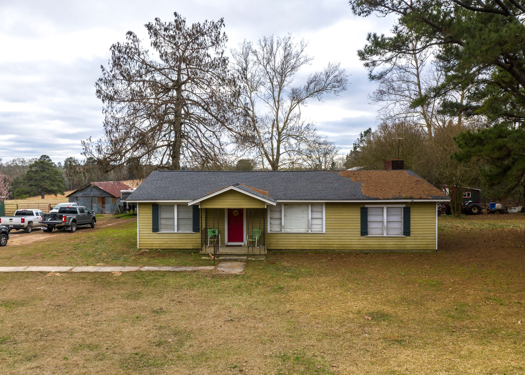 Country Home, Land, Caddo Lake Area, Harrison County, Texas