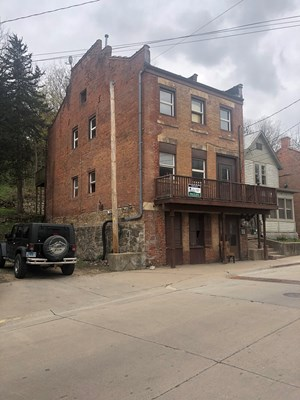 MULTI FAMILY HISTORIC BUILDING SELLING AS IS
