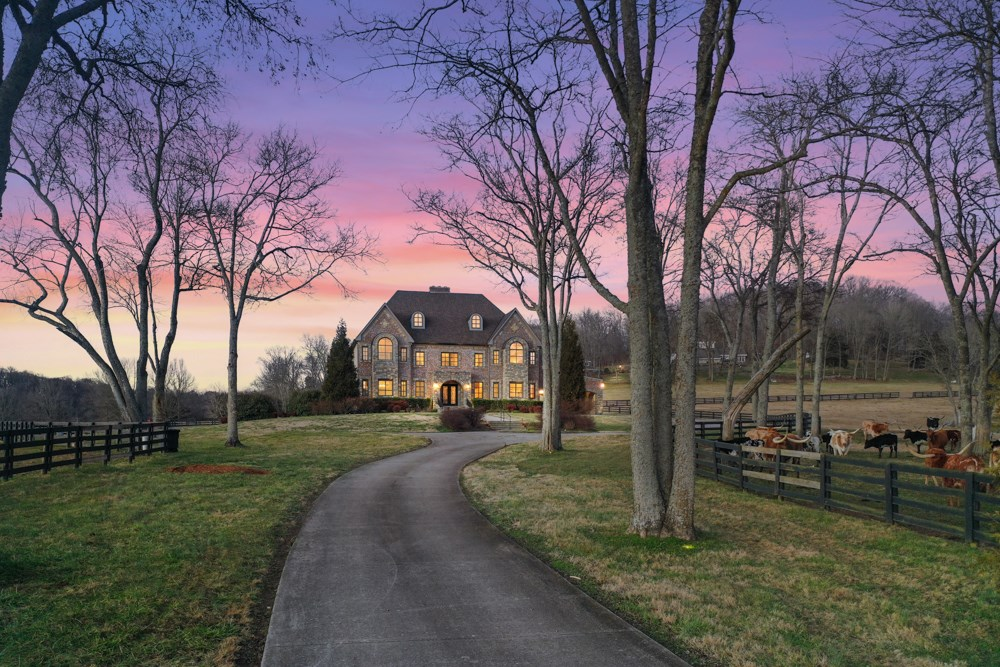 Country Estate Home For Sale In Franklin, TN
