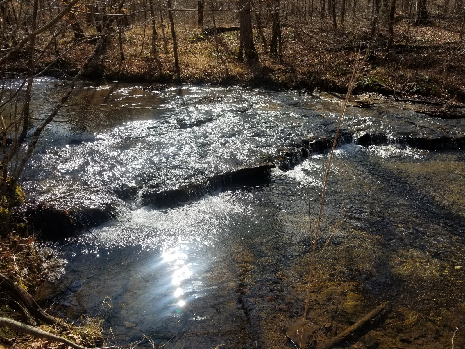 SOLD! 31 ACRE TN WOODS LAND CREEK WATERFALL ELECTRIC