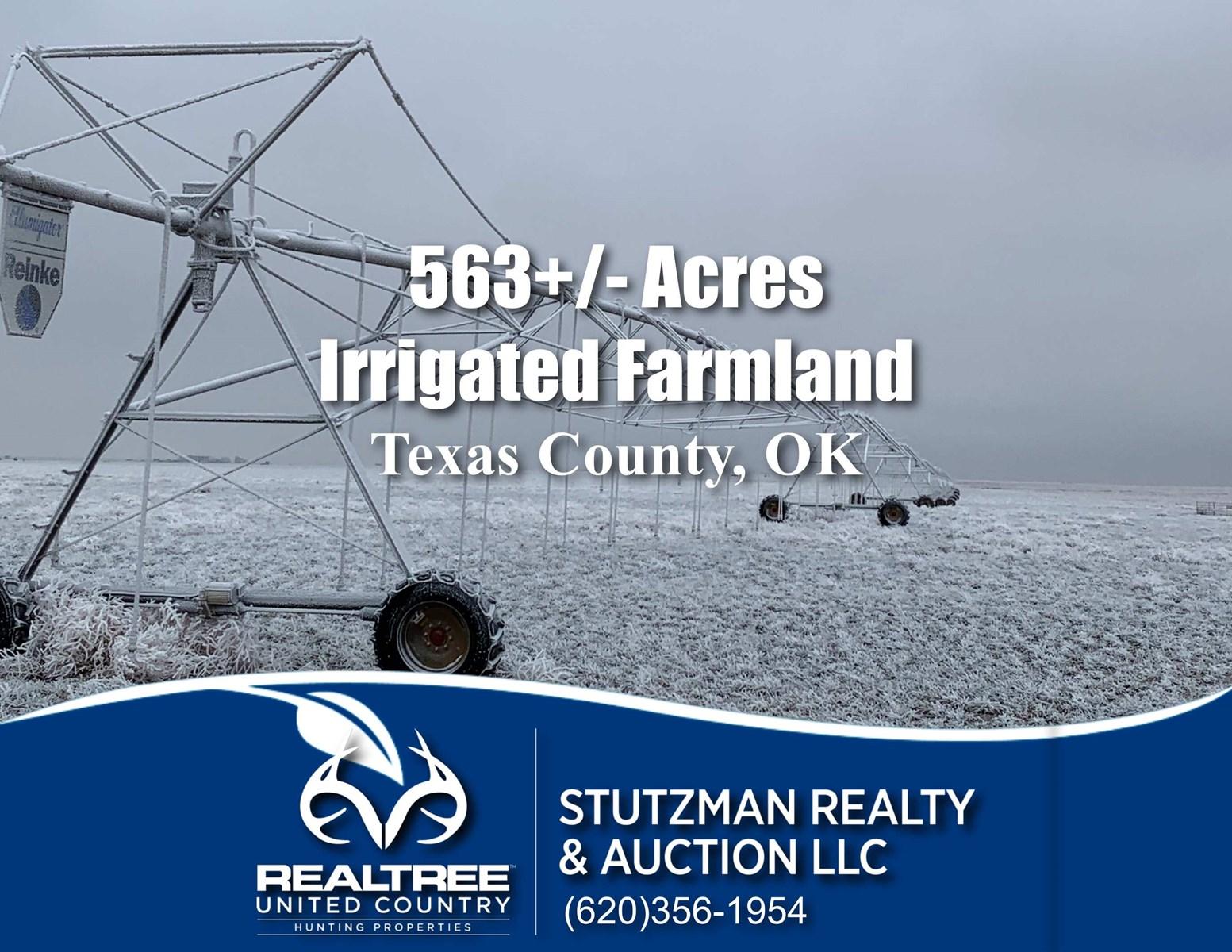 TEXAS COUNTY, OK ~ 563 ACRE IRRIGATED FARM