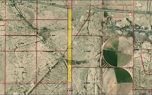 577.52 AC Land For Sale I-10 Pecos Co Ft Stockton, TX