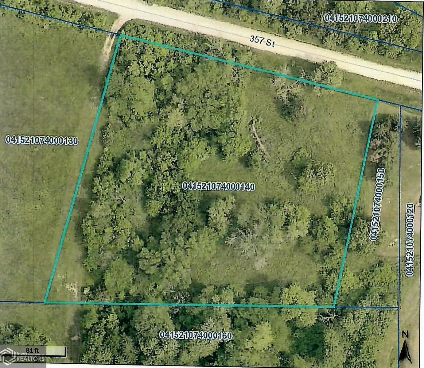 Land For Sale in Lee Co, IA, Great For Building