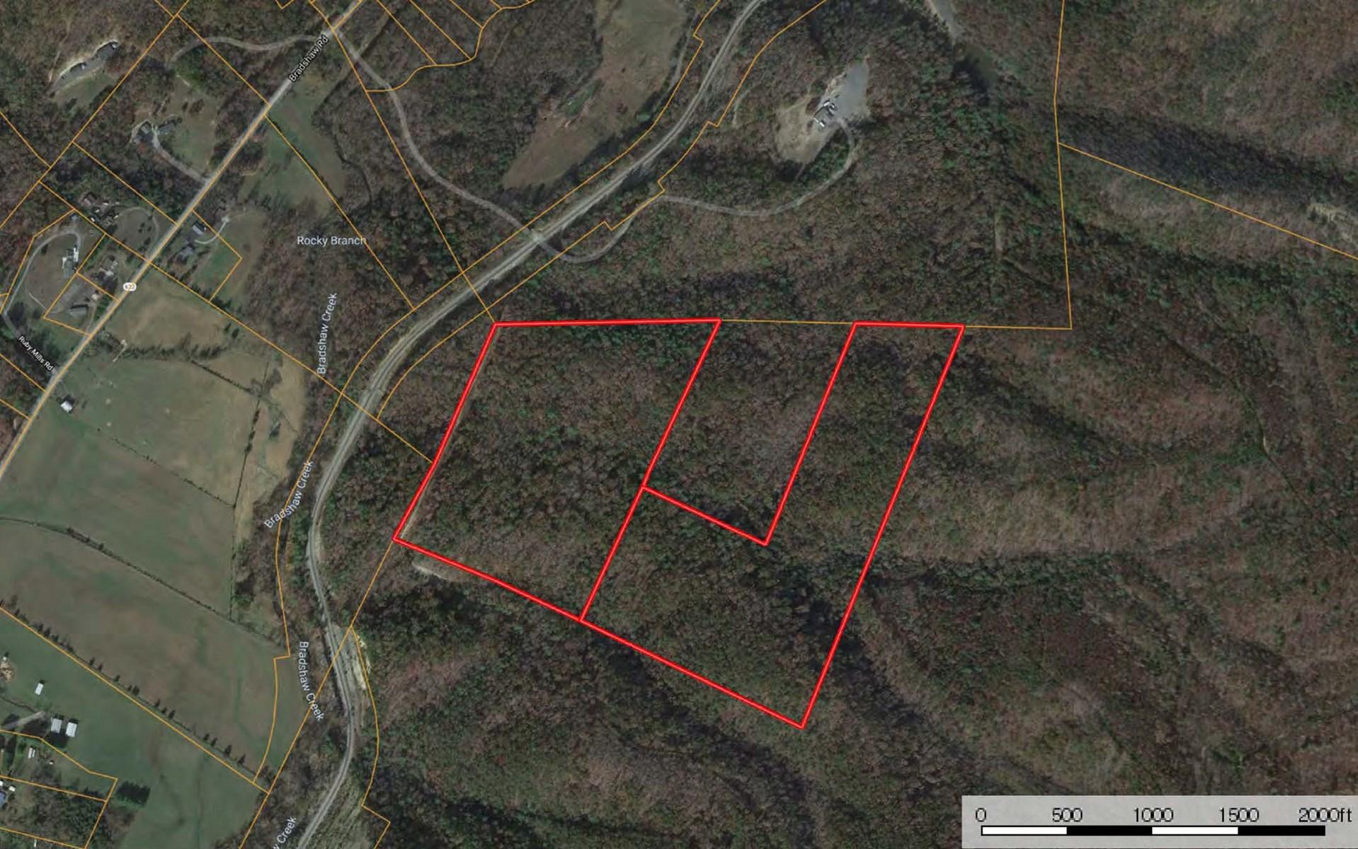 Mountain Land for Sale in Elliston VA
