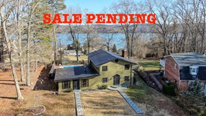 CLAYTOR LAKE HOME FOR SALE WITH LAKE VIEW!