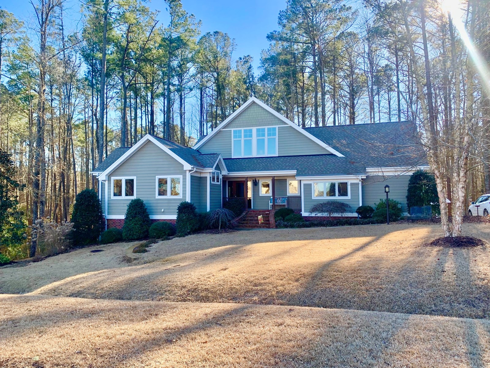 Golf course/boating community home in Cypress Landing NC