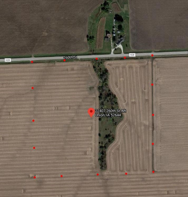 38.5 acres M/L Des Moines County Iowa Land Auction