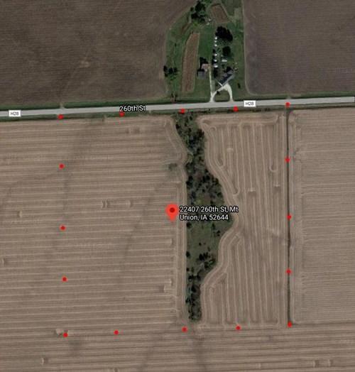 38.5 acres M/L Des Moines County Iowa Land Auction