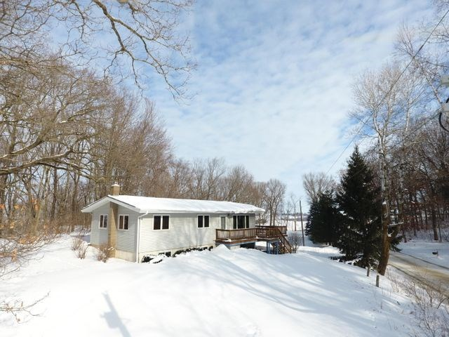 Spacious Country Home with large deck for sale in WI