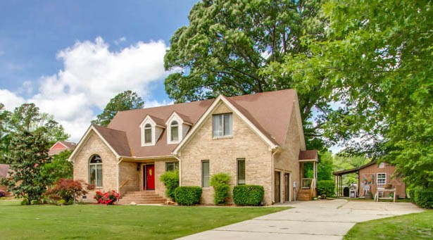Custom Home on Private Lake in Suffolk, VA