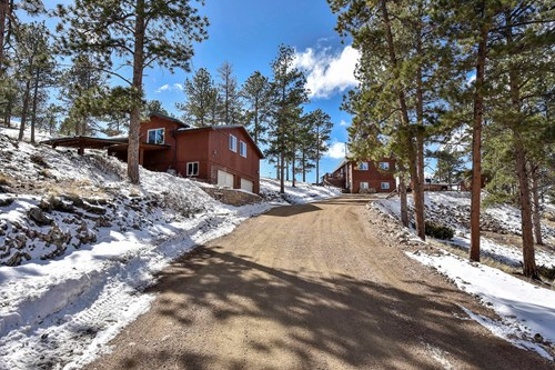 Colorado Mountain home on 30 acres with great views
