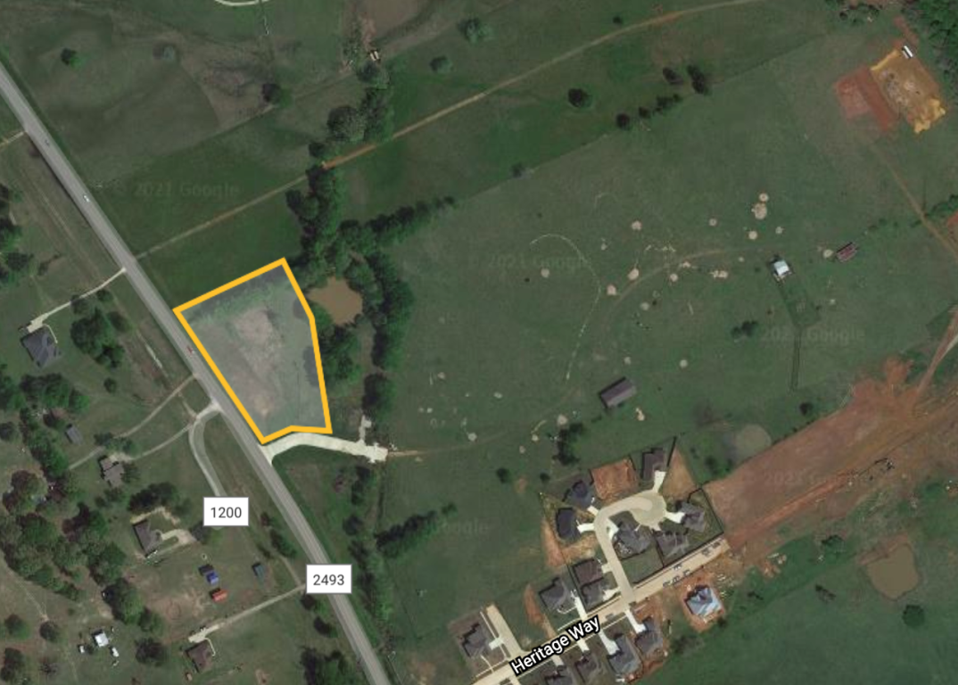 COMMERCIAL LAND 1.48 ACRES FOR SALE IN BULLARD