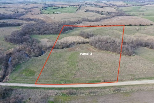 ACREAGE FOR SALE IN SOUTHERN IOWA WITH CRP INCOME & HUNTING
