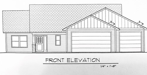 One Level Lving 3BR,2BA New Construction home for sale