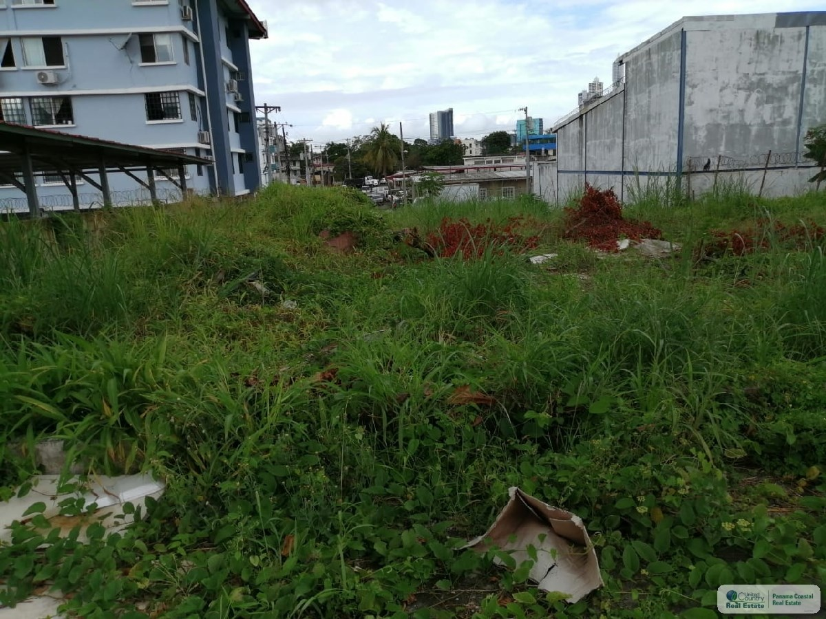 LOT FOR SALE IN PANAMA CITY CLOSE TO THE METRO LINE