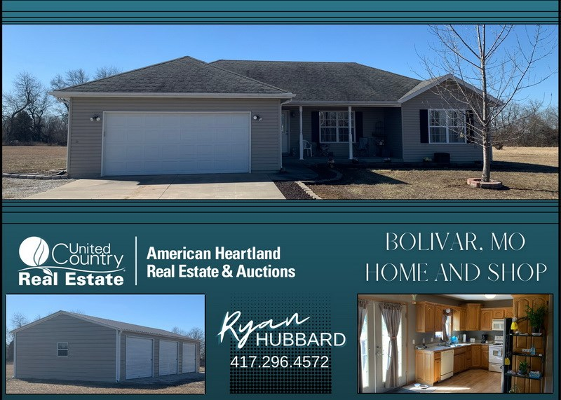 Country Home For Sale in Bolivar, MO