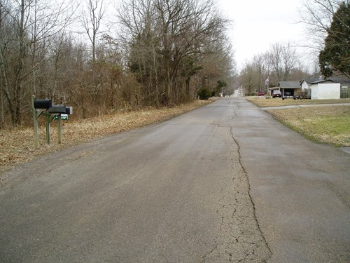 16 acres in the county across the street from the city of