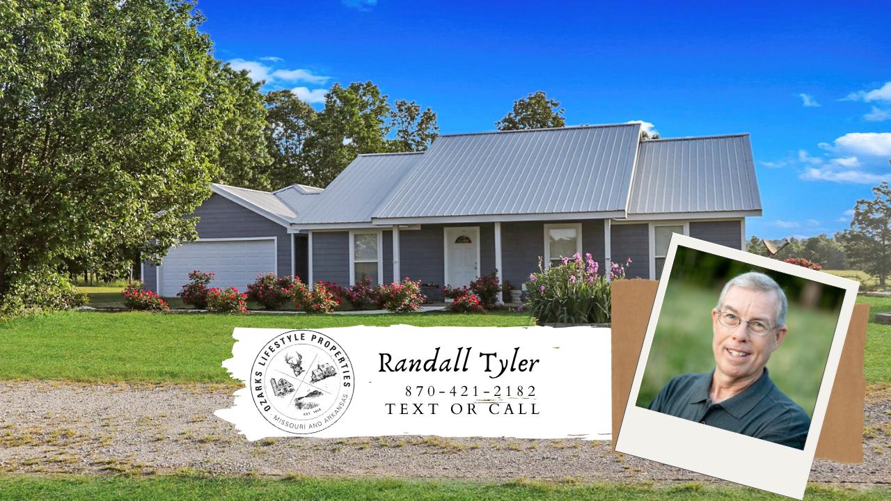 Arkansas Ozark Country Home and Farm for sale Salem AR