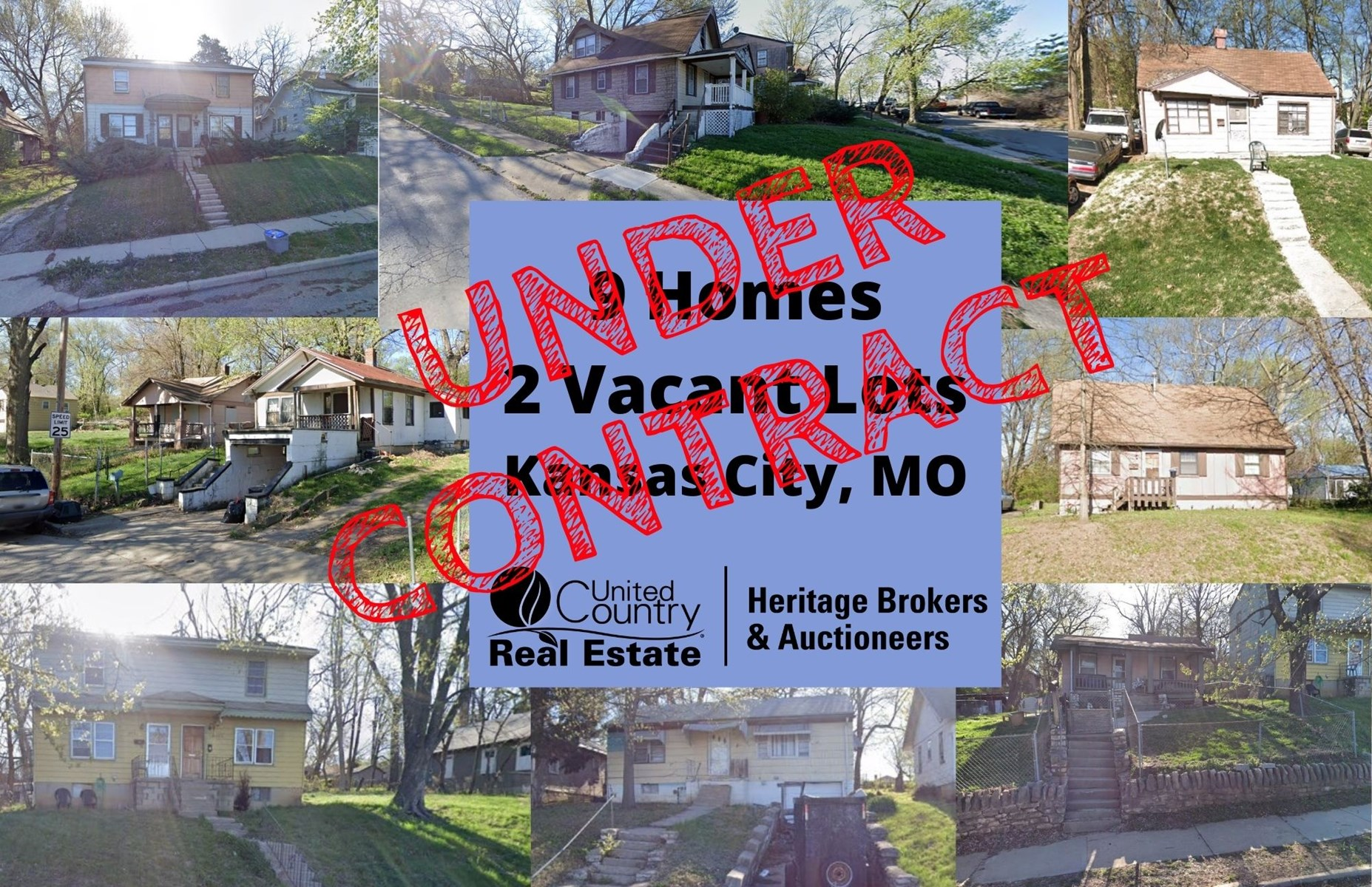 Investment Package 9 Homes and 2 Vacant Lots in KC MO