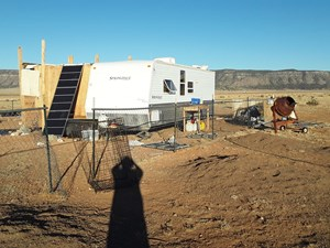 49 ACRES - TRAVEL TRAILER, SOLAR, SEPTIC & WATER CISTERNS