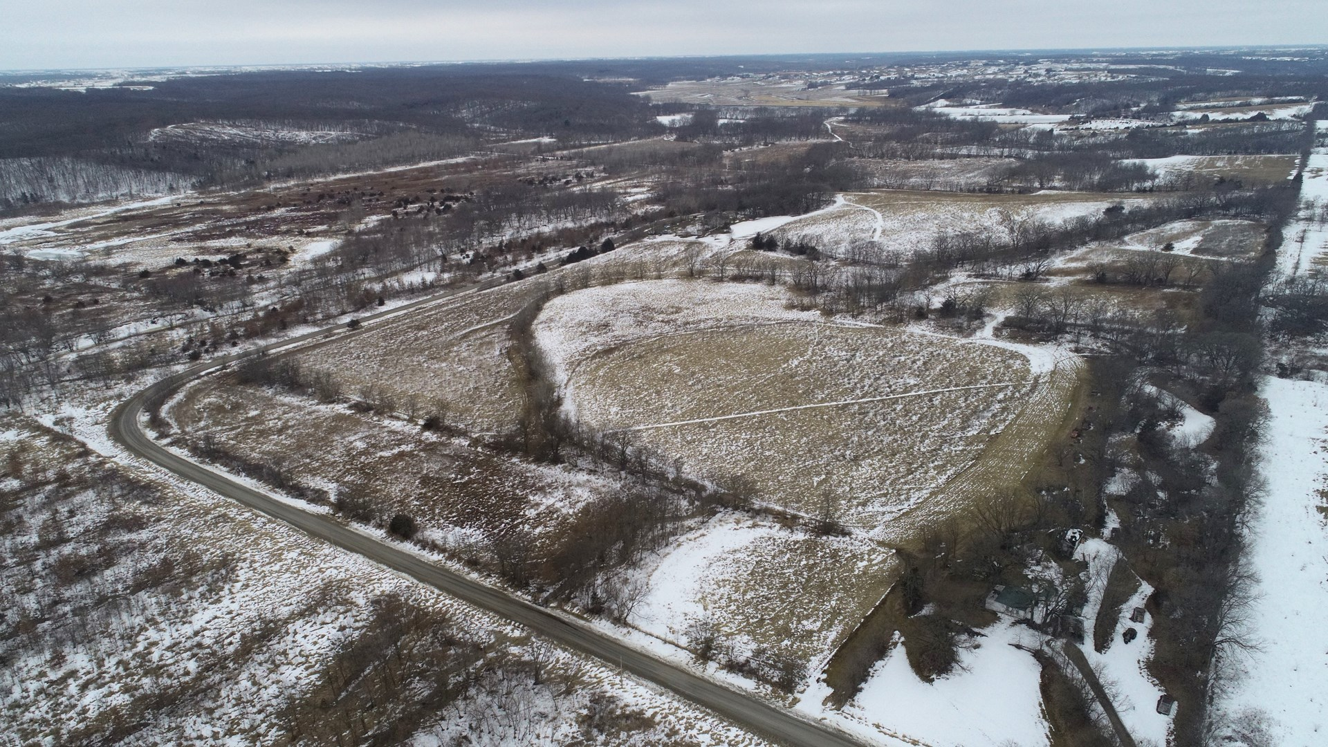 Lucas County Iowa Hunting Tract with Building Potential