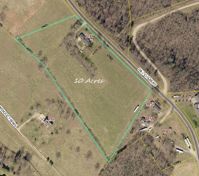 Brick Ranch with 10 Acres in the NC Brushy Mountains