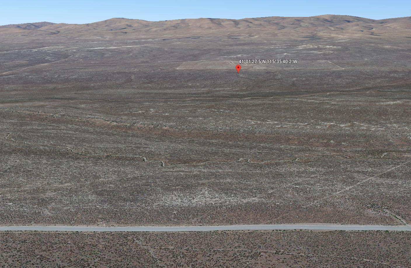 Nevada Residential Buildable Mountain Desert Land For Sale