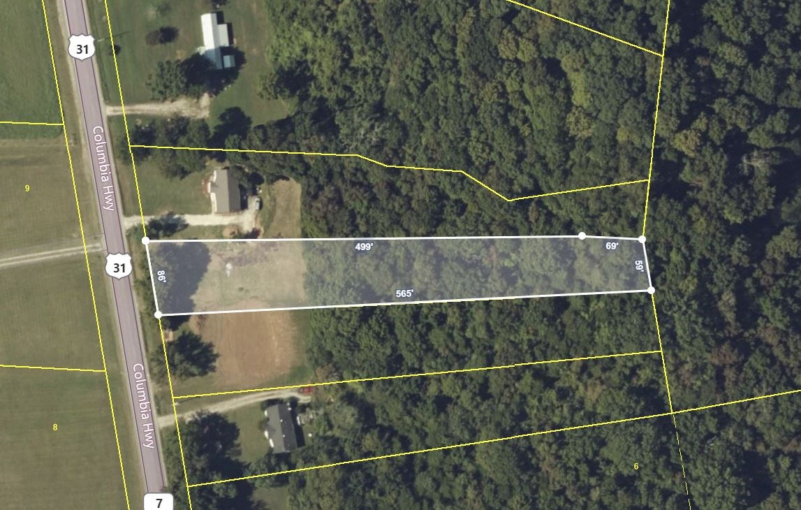 Residential Lot for Sale in Giles County. Tennessee