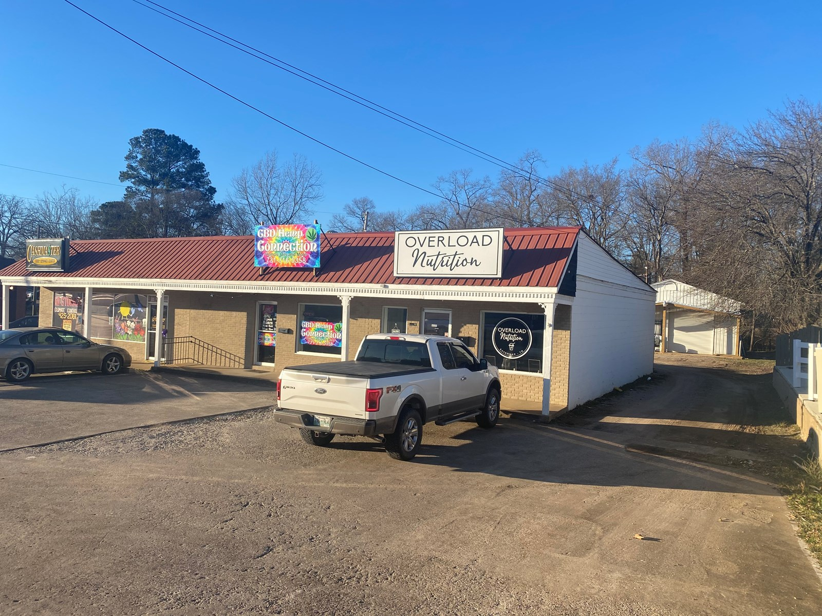COMMERCIAL MIXED USE BUILDING FOR SALE IN SAVANNAH TENNESSEE