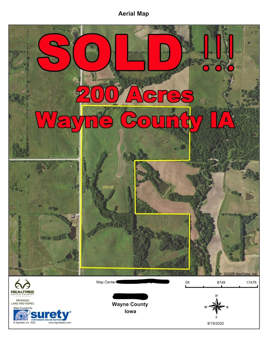 200 Acre Wayne County IA