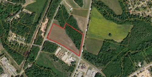 Prime Commercial Property 14 acres.
