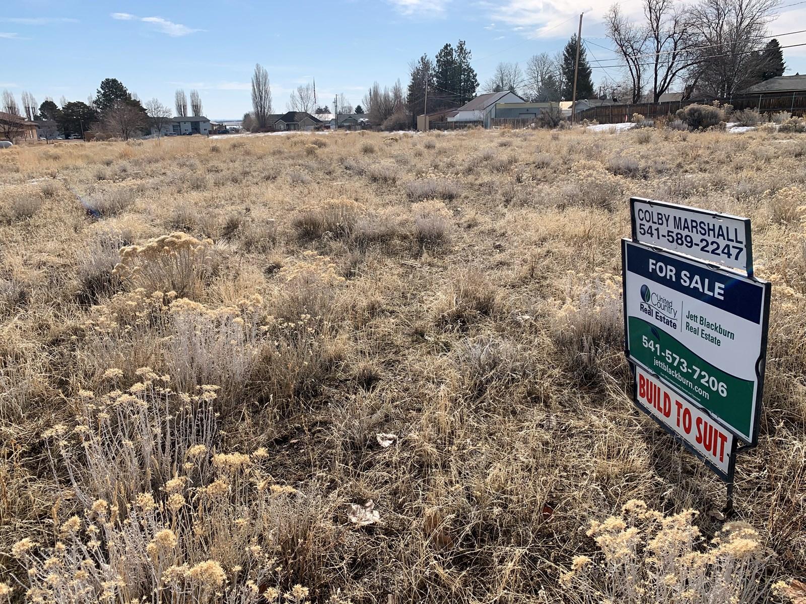 Tennyson Avenue Buildable Lots - Hines, Oregon