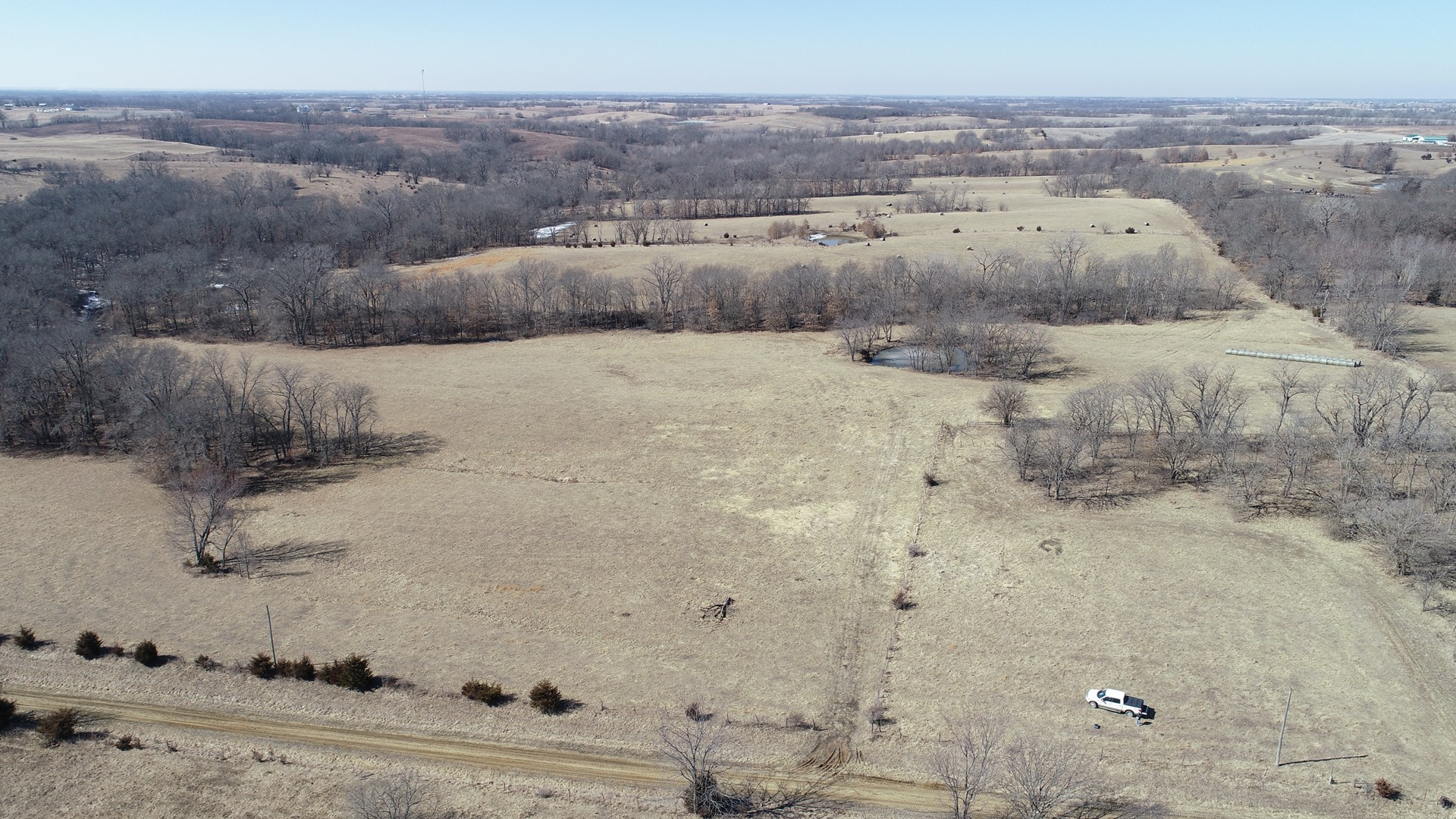 146+/- Acres, Pasture, Hay, & Premier Hunting, Tract 1 of 2