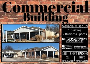 COMMERCIAL BUILDING WITH INCOME NEVADA MISSOURI