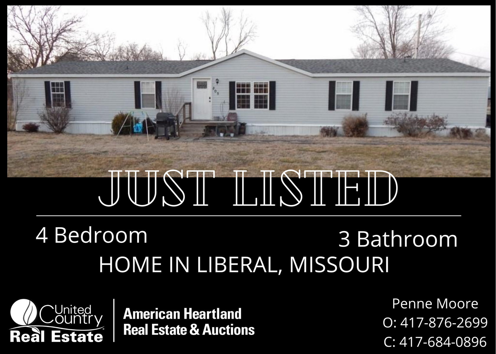 Liberal Missouri Home in Town