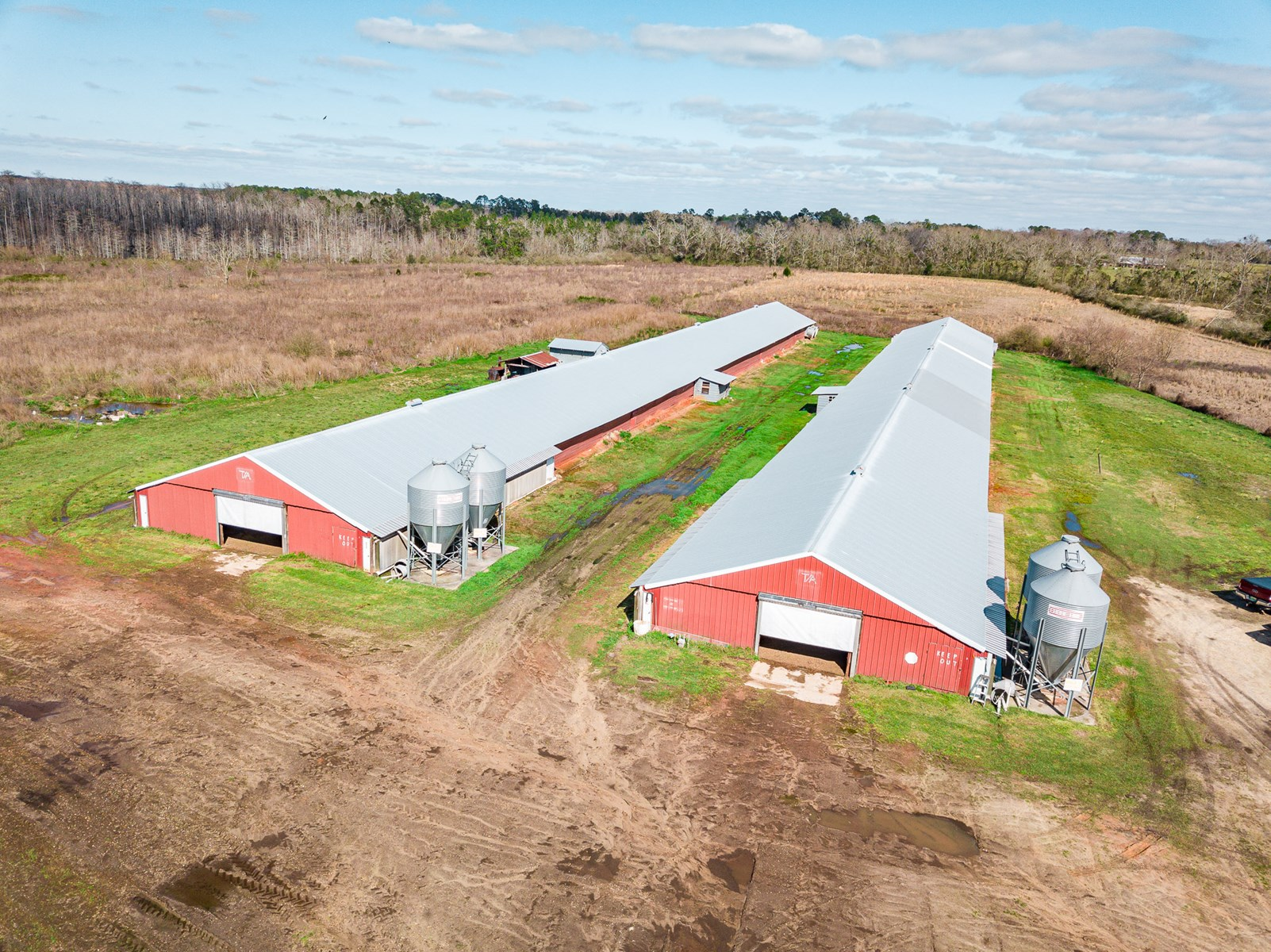 Chicken House Farm with 40 Acres For Sale Hartford, AL