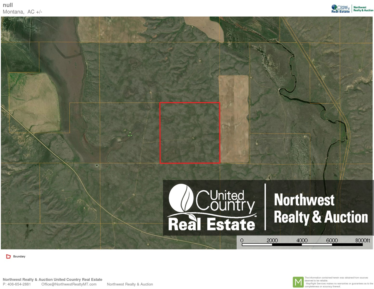 160 Acres Grazing Land North Central Montana