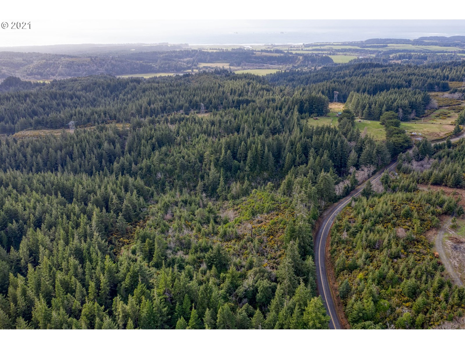 160 Acre Parcel For Sale North of Port Orford