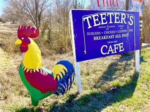 Commercial Restaurant in Salem, AR Hwy 62/412 Frontage
