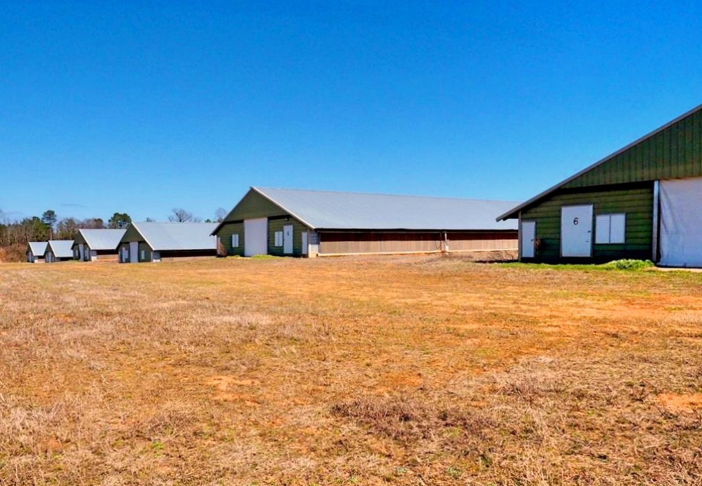 6 House Broiler Poultry Farm for Sale Central Mississippi