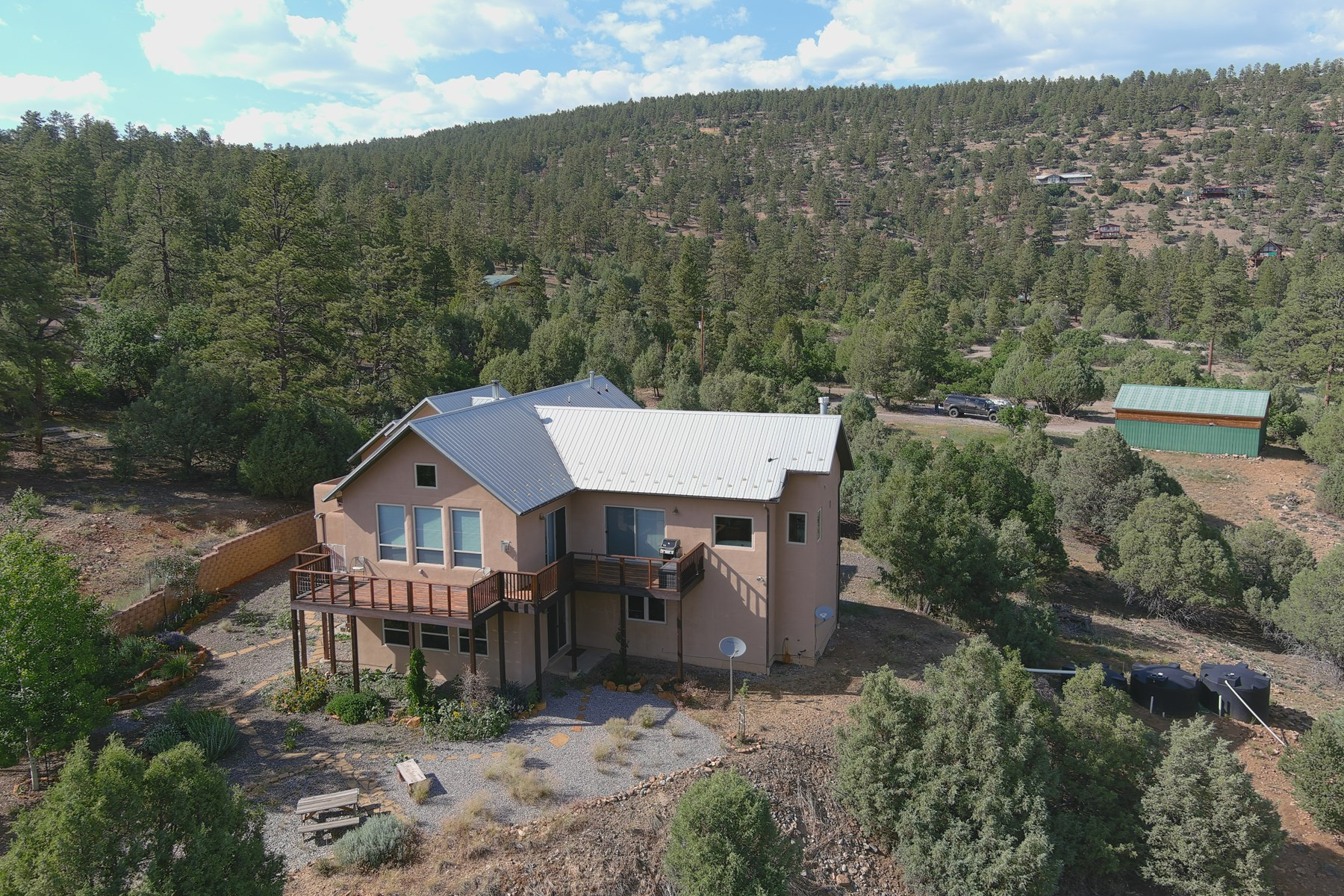 Heron Lake Luxury Home for Sale Near Chama NM Laguna Vista
