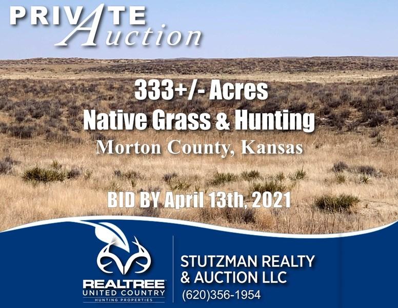 stutzman private auction kansas ranch