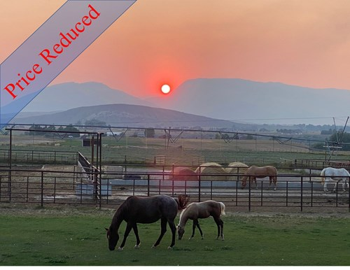 Wyoming Horse Property and Luxury Home For Sale