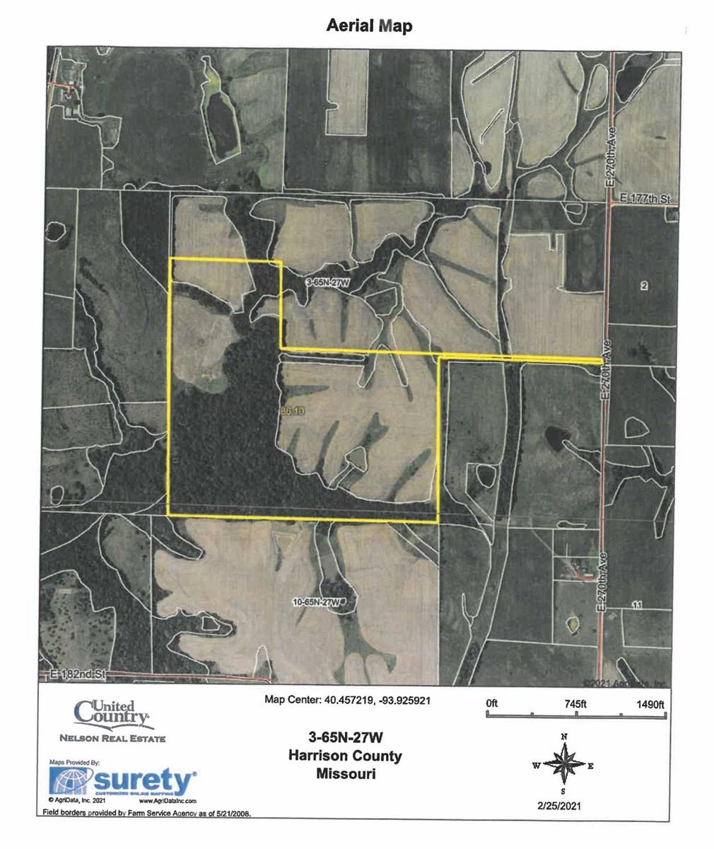 For Sale 84 Acre m/l Farm in Northwest MO