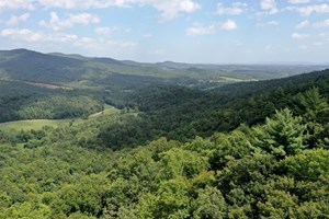 PRIVATE AND SECLUDED MOUNTAIN PROPERTY FOR SALE IN MITCHELL