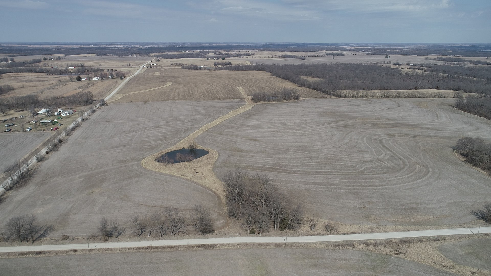 Exceptional Upland Row Crop & Build Site near Columbia