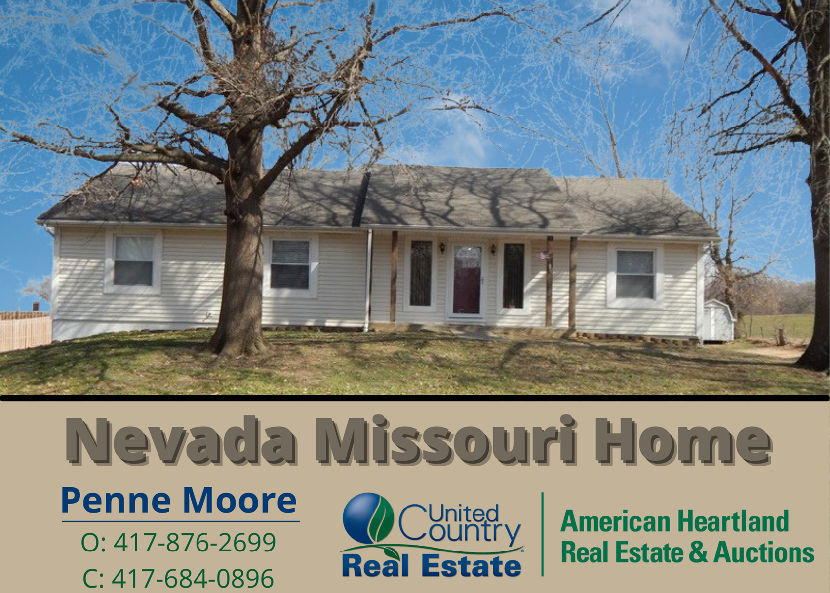 Country Home For Sale In Nevada Missouri