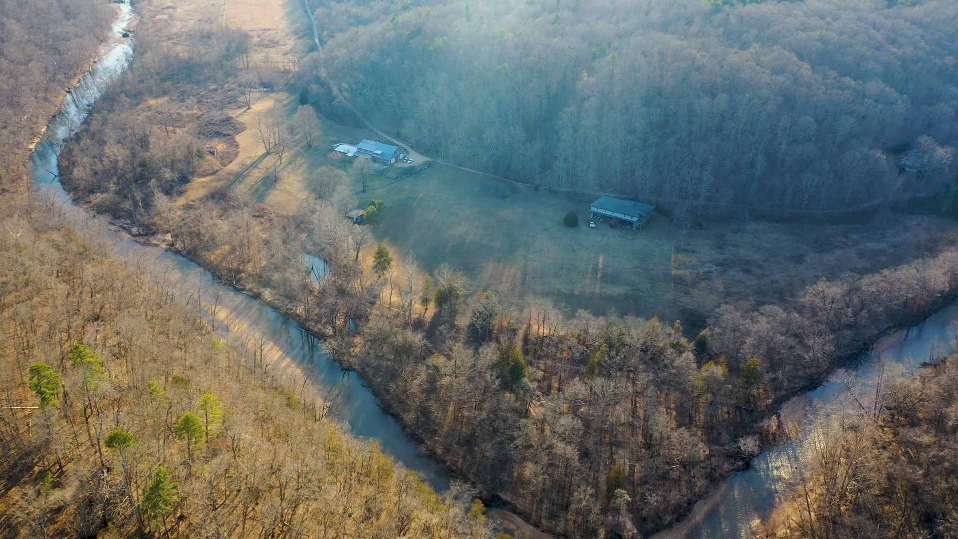 River Front Home - Springs - Hunting & Recreational Property