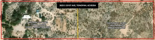 5 ACRES WITH IRRIGATION RIGHTS IN TONOPAH, ARIZONA