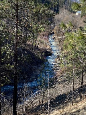 MOUNTAIN VIEW 40 ACRES, CREEK FRONT PROPERTY